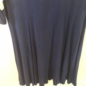 Amaryllis Dresses - Amaryllis color block sleeve dress